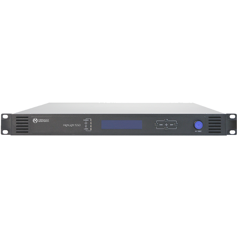 Передатчик оптический для сетей КТВ Vermax-HL-1550CM-2x7