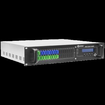 Оптический усилитель VERMAX для сетей КТВ, 2 входа, 16*17dBm выхода, WDM фильтр PON
