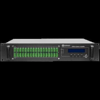 Оптический усилитель VERMAX для сетей КТВ, 2 входа, 32*17dBm выхода