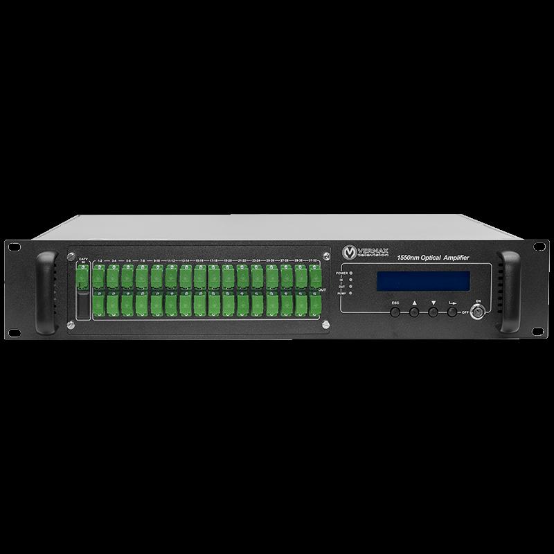 Оптический усилитель VERMAX для сетей КТВ, 32*18dBm