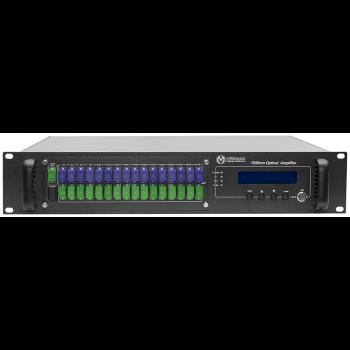 Оптический усилитель VERMAX для сетей КТВ, 32*19dBm, WDM фильтр PON