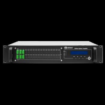 Оптический усилитель VERMAX для сетей КТВ, 2 входа, 4*18dBm выхода, WDM фильтр PON