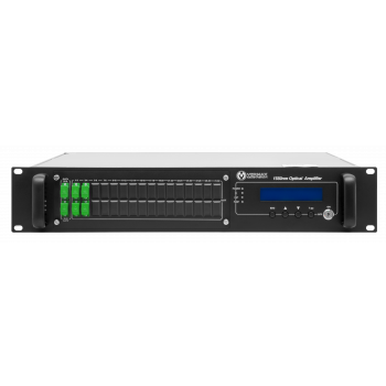 Оптический усилитель VERMAX для сетей КТВ, 2 входа, 4*20dBm выхода, WDM фильтр PON