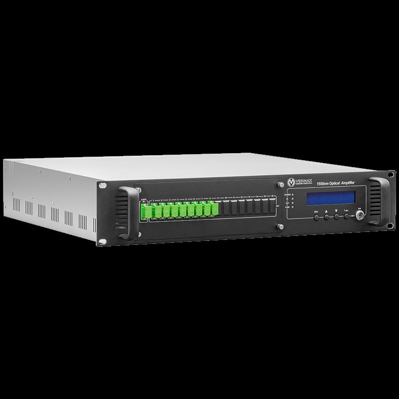 Оптический усилитель VERMAX для сетей КТВ, 8*20dBm