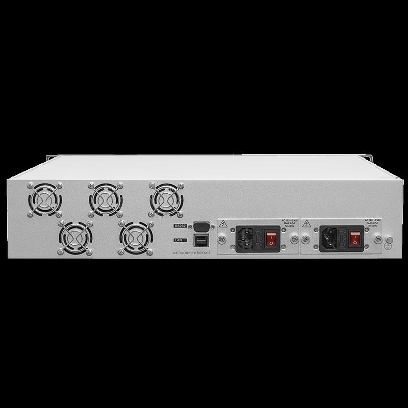 Оптический усилитель VERMAX для сетей КТВ, 2 входа, 8*21dBm выходов