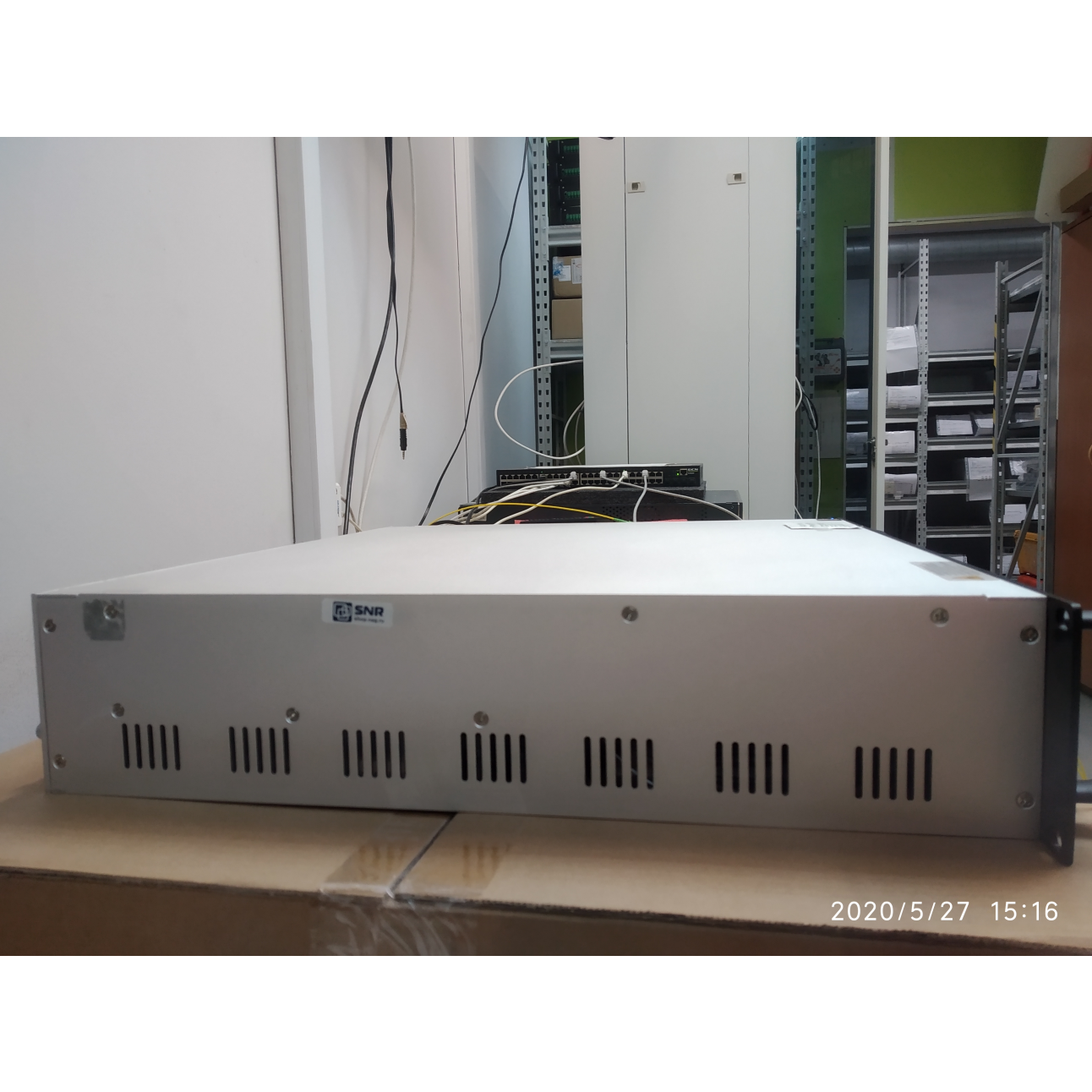 Оптический усилитель VERMAX для сетей КТВ, 8*23dBm (б/у)