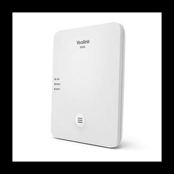 SIP-телефон Yealink W80B DECT, базовая станция, микросота DECT, PoE