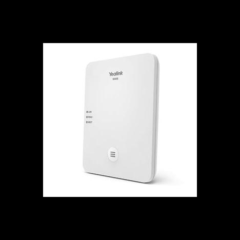 Менеджер DECT W80DM,контроллер, микросота DECT, до 30 базовых станций, до 100 устройств, до 100 вызовов, PoE