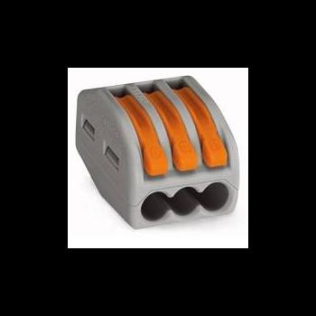 Клеммник WAGO 3x (0.08-4)