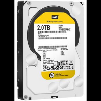 "Жесткий диск WD Original SATA-III 2Tb WD2000F9YZ SE (7200rpm) 64Mb 3.5"""