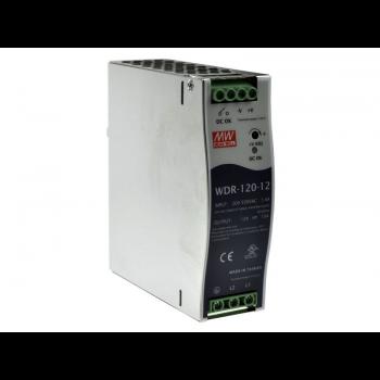 WDR-120-12 Блок питания на DIN-рейку, 12В, 10А, 120Вт Mean Well
