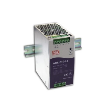 WDR-240-48 Блок питания на DIN-рейку, 48В, 5А, 240Вт Mean Well