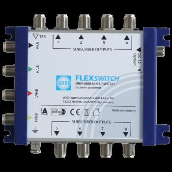 Мультисвитч WISI FLEXSWITCH 5х16 с питанием от ресивера