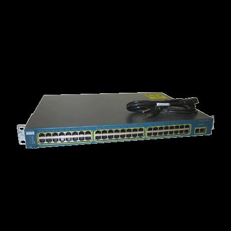 Коммутатор Cisco Catalyst WS-C2950T-48-SI (некондиция, неисправен 1 порт RJ45)