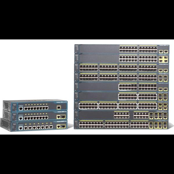 Коммутатор Cisco Catalyst WS-C2960-48TT-L (некондиция, 1 неисправный порт RJ45)