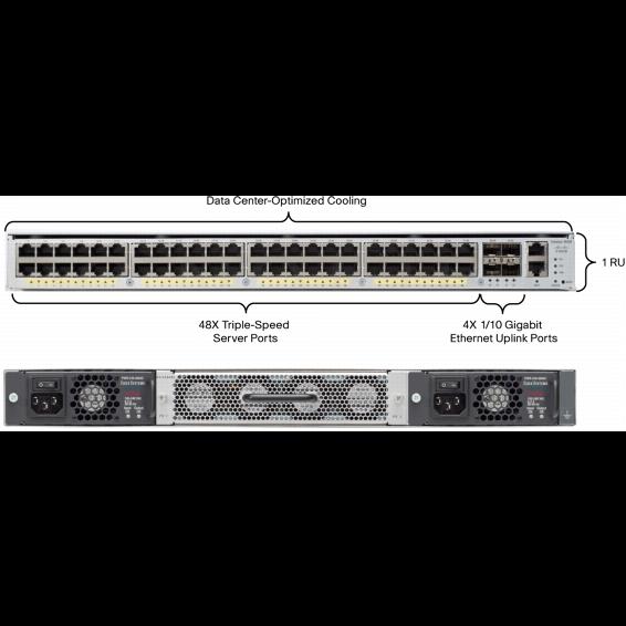 Коммутатор Cisco Catalyst WS-C4948E-F-S
