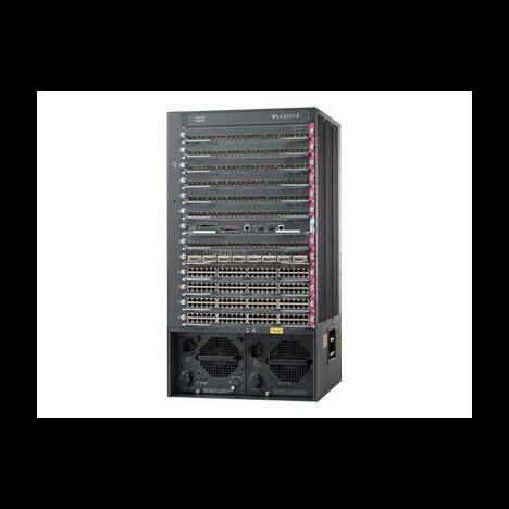 Шасси Cisco Catalyst WS-C6513 (некондиция, повреждения контактного разъема 11 слота)