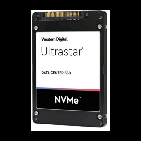 "Накопитель SSD Western Digital Ultrastar DC SN640, 3.84Tb, PCIe 3.1 x4  U.2, 3D TLC, 2,5"""