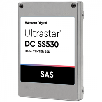 Накопитель SSD Western Digital Ultrastar DC Server SS530s, 1.6Tb, SAS, 3D TLC, 2,5""