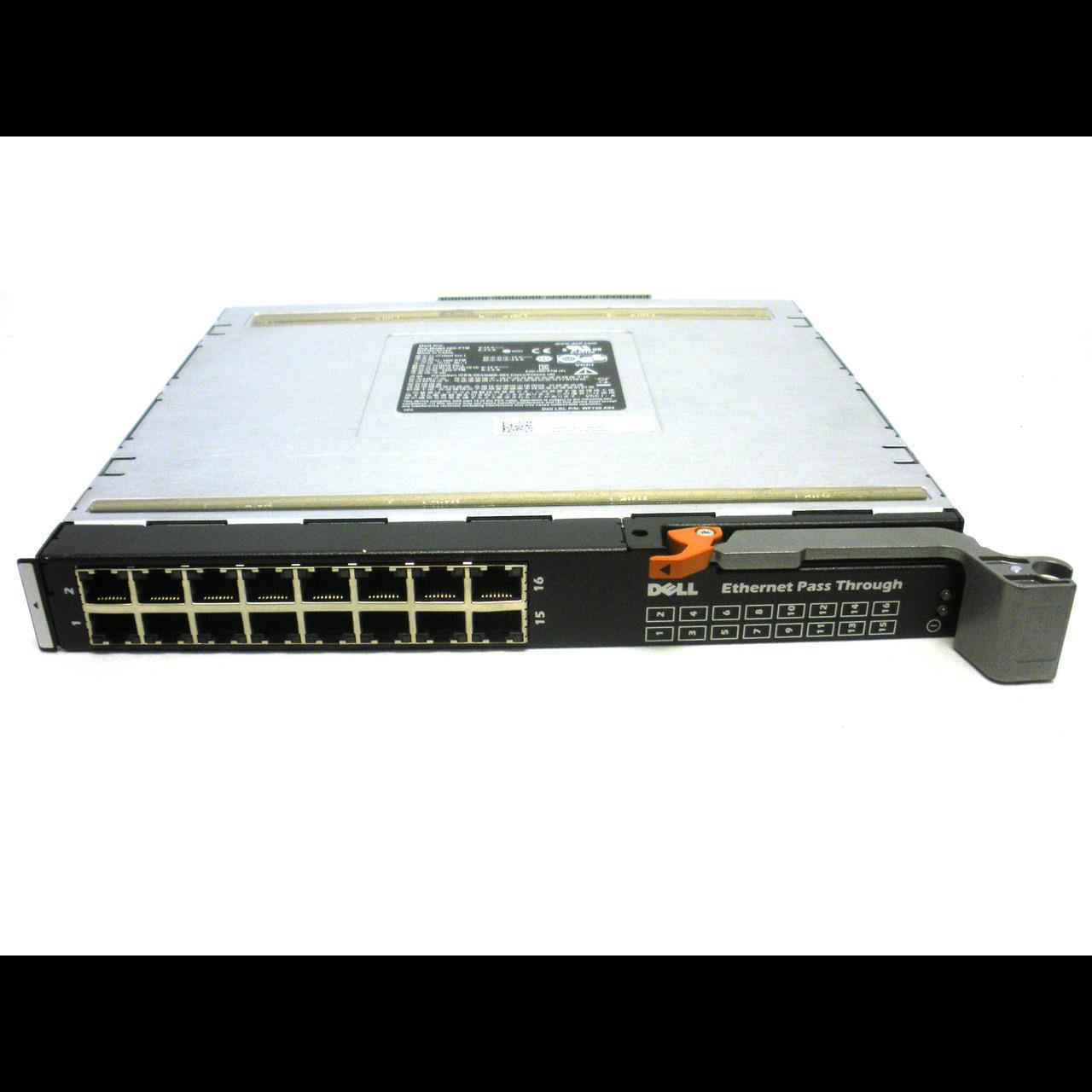 Модуль транзита Ethernet для Dell блейд систем M1000e, 16х 100/1000Base-T