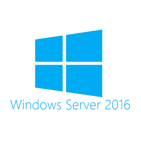 Лицензия Microsoft Windows Server Std 2016 RUS, 16 ядер