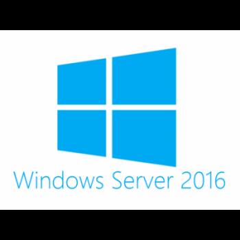 Лицензия Microsoft Windows Server Std 2016 RUS, 16 ядер, OEM, диск