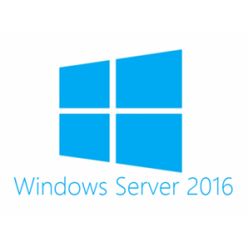 Лицензия Microsoft Windows Server Std 2016 RUS, 16 ядер, OEM, диск
