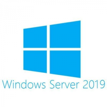 Лицензия Microsoft Windows Server Std 2019 RUS, 16 ядер, OEM, диск