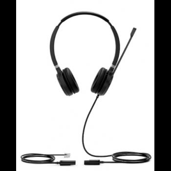 YHS36 Dual Дуо, Проводная, HD звук, QD, RJ9