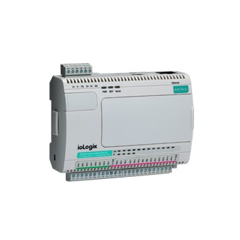 Устройство ввода/вывода, модуль ioLogik E2242 Ethernet 4 AI, 12 DIO, MOXA