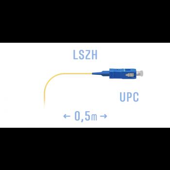 Пигтейл SC/UPC SM (0.9) 0.5 m