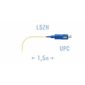 Пигтейл SC/UPC SM (0.9) 1.5 m